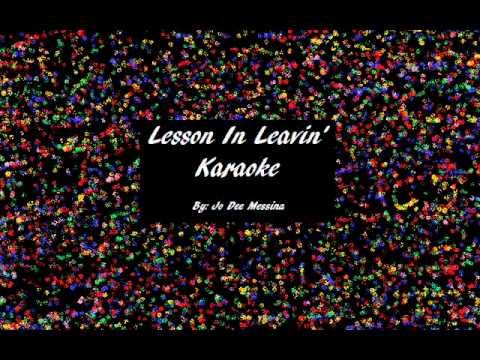 Lesson In Leavin' Karaoke