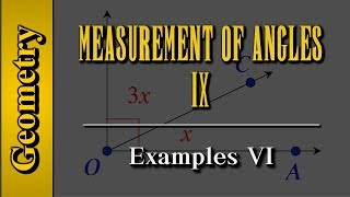 Geometry: Measurement of Angles (Level 9 of 9)   Examples VI