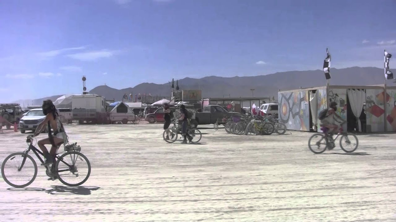 Hub Culture Camp at Burning Man 2015 with Sweet Alice & Puppy Art Car Ride