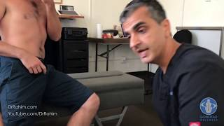 Skateboarder Sprains Knee and Pelvis - HELPED with Dr. Rahim Gonstead Chiropractor