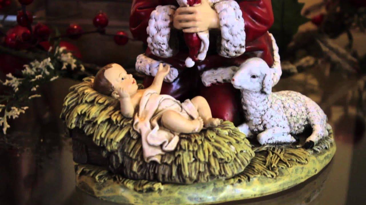 d5ffad21ff6 The Kneeling Santa Christmas Tradition - YouTube