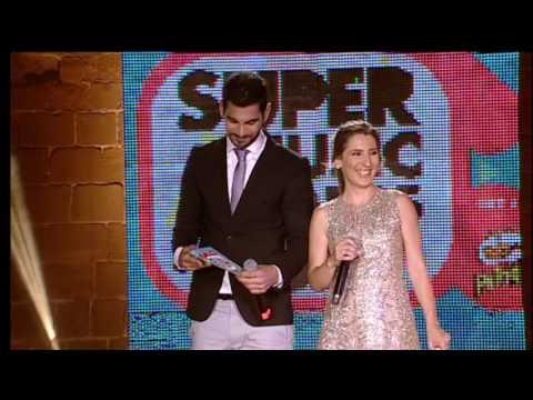 Λαμπερή βραδιά - Super Music Awards 2017