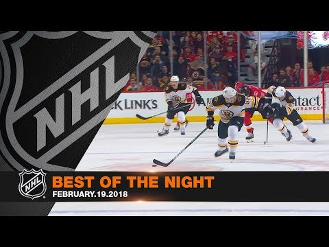 Marchand's OT winner, Rinne's terrific save capture the night