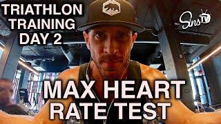 Triathlon Training Day 2    Max Heart Rate Test