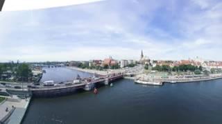 Polska z góry | Szczecin | wideo 360 stopni | oryginalna seria PLANETE+