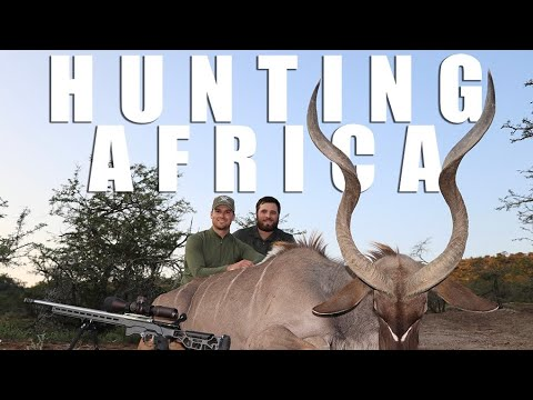 Hunting Africa - Giant Kudu Bull Hunt