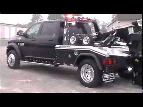 Dodge Ram 5500 >> D8680 2014 Dodge 5500 with Jerr Dan MPL40 - YouTube