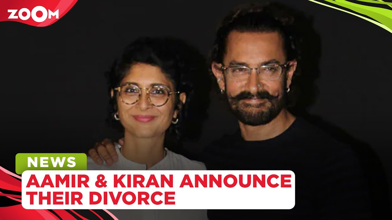 Aamir Khan and Kiran Rao announce their divorce after 15 years of marriage