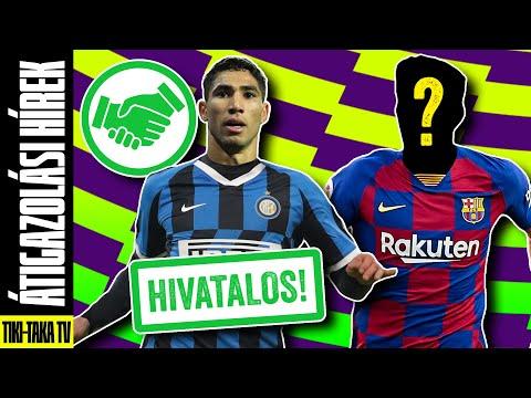 Hakimi az Interé! Újabb Juve-játékost igazolhat a Barcelona?