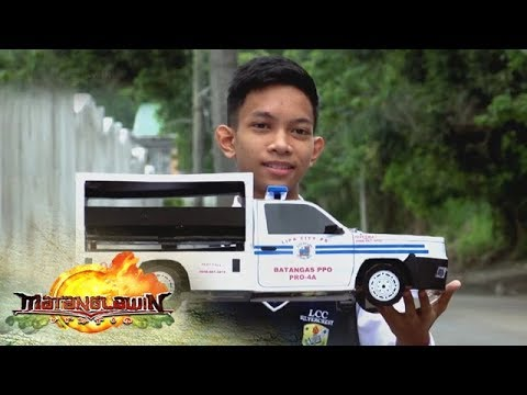 Matanglawin: Vehicular toys from recycled materials