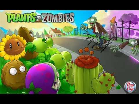 zombie plants песни музыка. Слушать Plants vs. Zombie - Night Time in Front Yard бесплатно