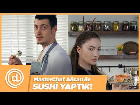 MASTERCHEF ALİCAN İLE SUSHİ YAPTIK!