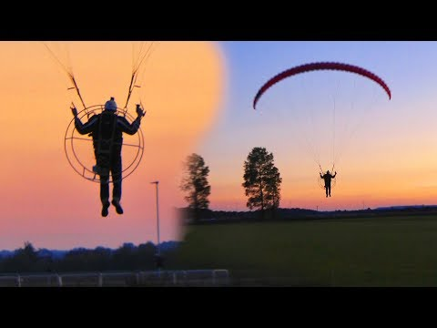 First Electric Paramotor Flight - East Anglia UK