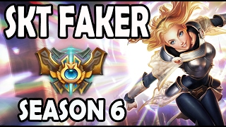 SKT T1 Faker Lux vs Viktor MID Ranked Challenger Korea [Patch 5.23]