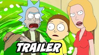 Rick and Morty Season 4 Teaser - Clone Beth Explained by Dan Harmon