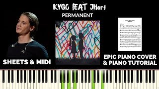 Kygo feat. JHart - Permanent (Piano Cover & Tutorial)