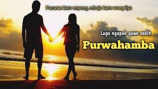 Lagu tegal populer - Purwahamba new version