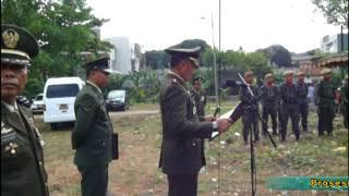 Prosesi Pemakaman Letkol Purn Soewaryoto