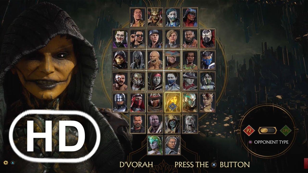 MK11 Locutor De Voces - Mortal Kombat 11 HD