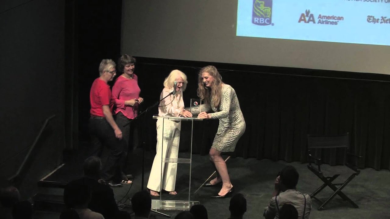 NewFest: Edie Windsor Receives Visionary Award