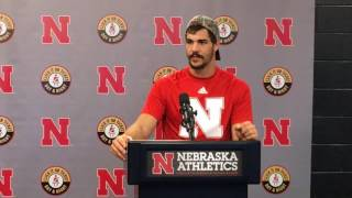 Nebraska WR Westerkamp talks win vs. Oregon