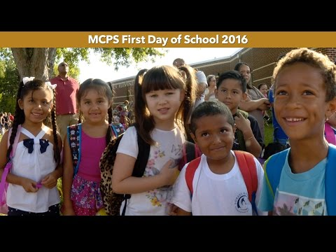 MCPS 2016-2017 first day of school sights and sounds!