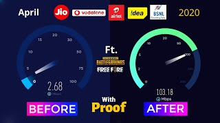 103 Mb Speed IPv6 Tool APN for Pubg Ping Problem | Jio APN Setting | How to Increase Jio 4G Speed