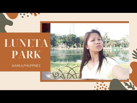 LUNETA PARK/COMPILATION OF PHOTOS/MANILA PHILIPPINES/MARCH 2019 VISIT