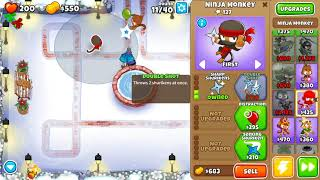 Bloons TD 6 - Easy, Standard, Winter Park, (NO MONKEY KNOWLEDGE)