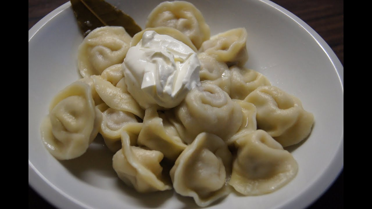Pelmeni/ Пельмени/ How to make russian Pelmeni - YouTube