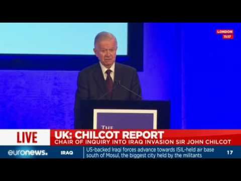 [Full speech] Chilcot report into UK govt.'s actions in Iraq made public