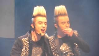 Jedward Talk - Studded Jackets,Ed Sheeran + Towel Dance - Killarney 16/2/13
