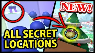 ALL NEW *FREE* ITEM & BEESMAS PRESENT SECRET LOCATIONS | Roblox Bee Swarm Simulator