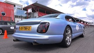 TVR Cerbera 4.5 V8 400HP - Acceleration Sounds!