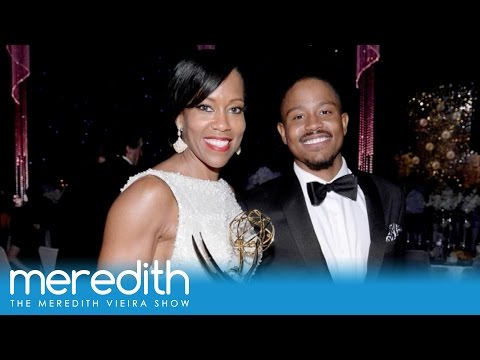 Regina King's Emotional Emmy Moment With Her Son  The Meredith Vieira