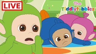 Teletubbies LIVE ★ NEW Tiddlytubbies 2D Series! ★ Episodes 1-9: Sleeping Carousel ★ Cartoon for Kids