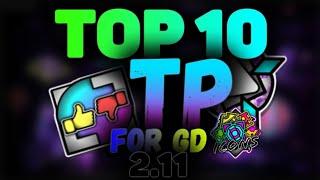 TOP 10 TexturePacks For GD 2.11 Geometry Dash 2.11