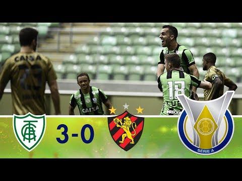 Melhores Momentos - América-MG 3 x 0 Sport - Campeonato Brasileiro (15/04/2018)