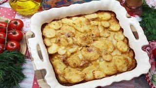 Очень вкусная картошка в духовке Картошка в духовке с майонезом Рецепт картошки в духовке