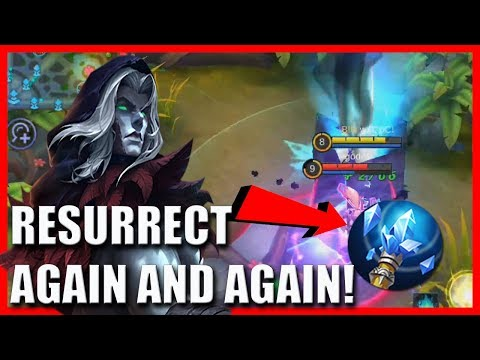 FARAMIS CAN RESURRECT AGAIN AND AGAIN USING FLEETING TIME | MOBILE LEGENDS