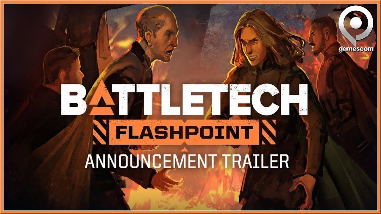 Video - BATTLETECH - GAMESCOM DLC Flashpoint Announcement