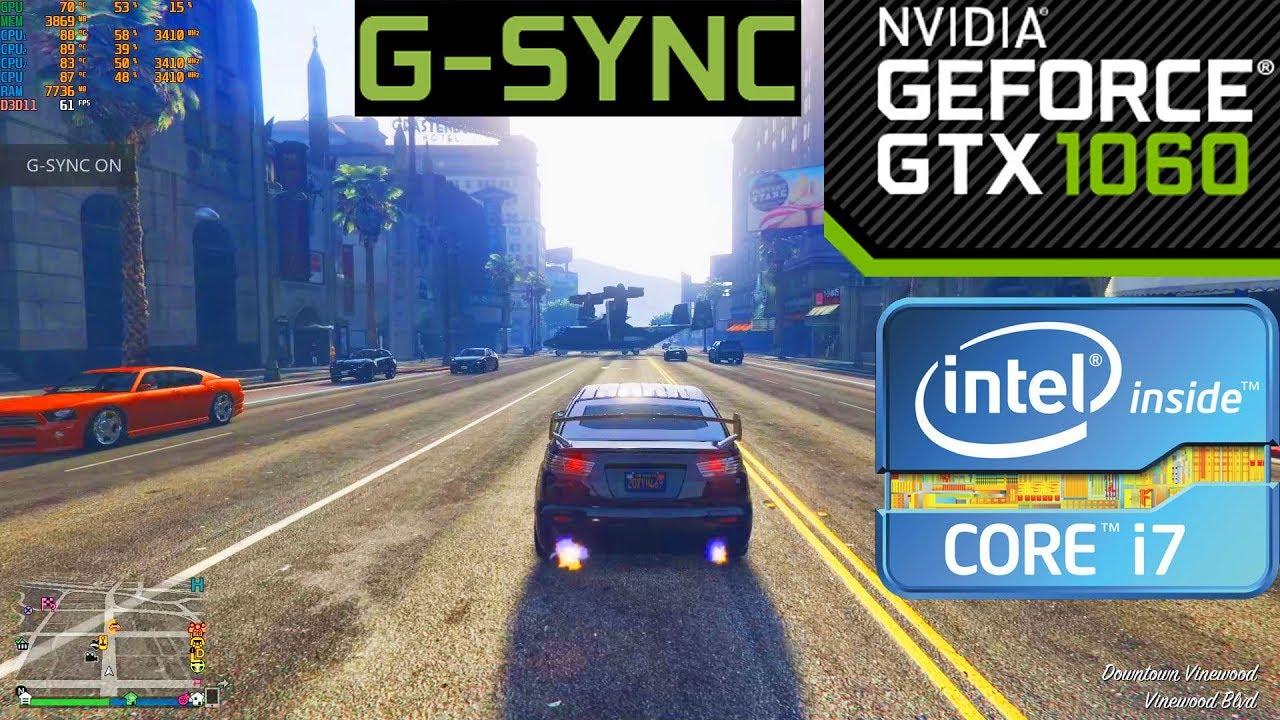 gta 5 1060 6gb settings