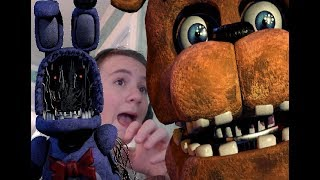 THIS GAVE ME A HEART ATTACK!! | Five Nights at Freddys 2 - Part 2 (Night 3)