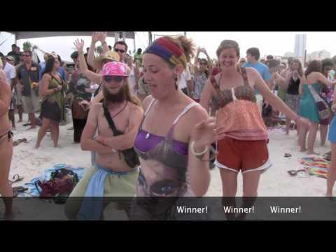 Hangout Music Festival - Hippie dance off competitation