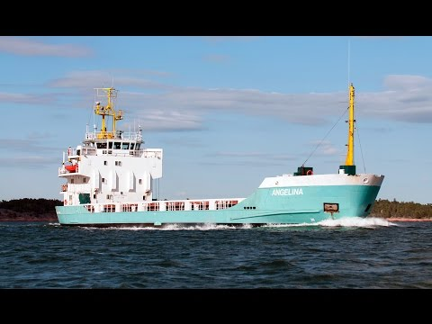 Shipsforsale Sweden for sale J.J. Sietas built cargo ship, ANGELINA.