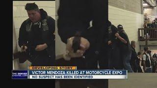 Photo shows gunman at motorcyle expo shooting