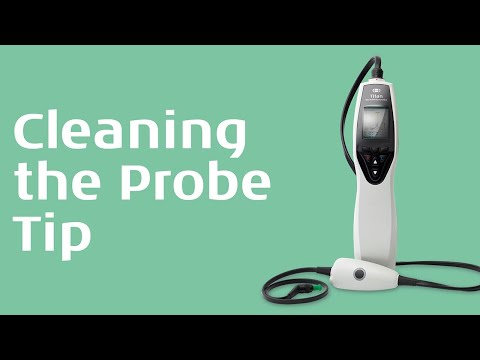 Cleaning the probe tip - Interacoustics