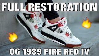 OG 1989 FIRE RED IV FULL RESTORATION