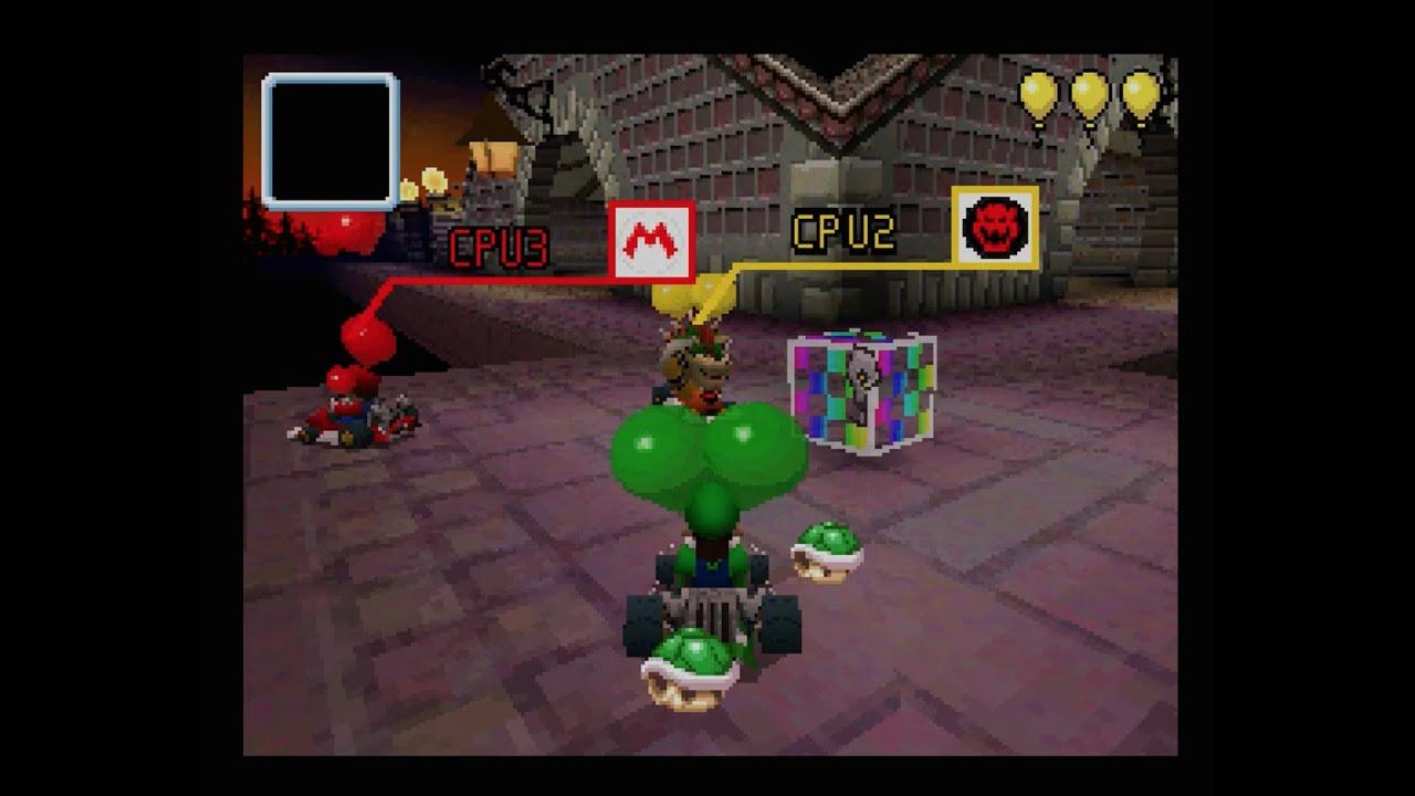 Mario Kart Ds Twilight House Balloon Battle 1080 Hd Youtube