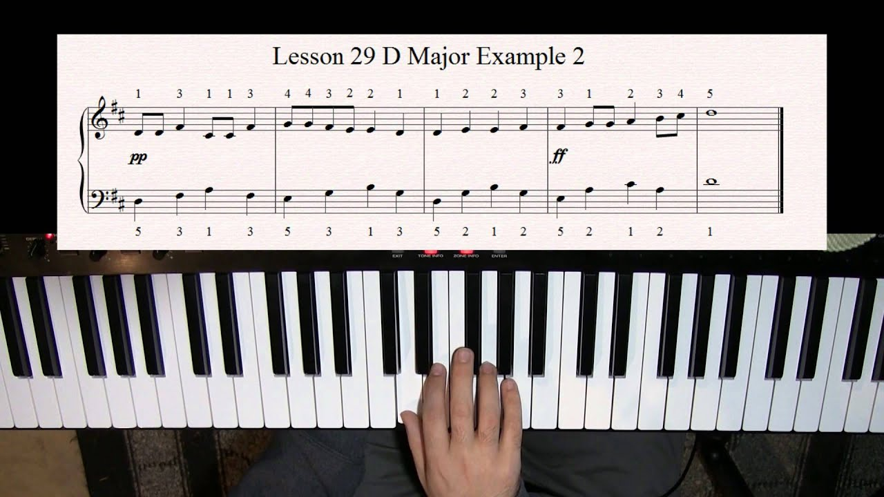 Learn how to Play Piano - Lesson 29 - Playing Songs in the ...